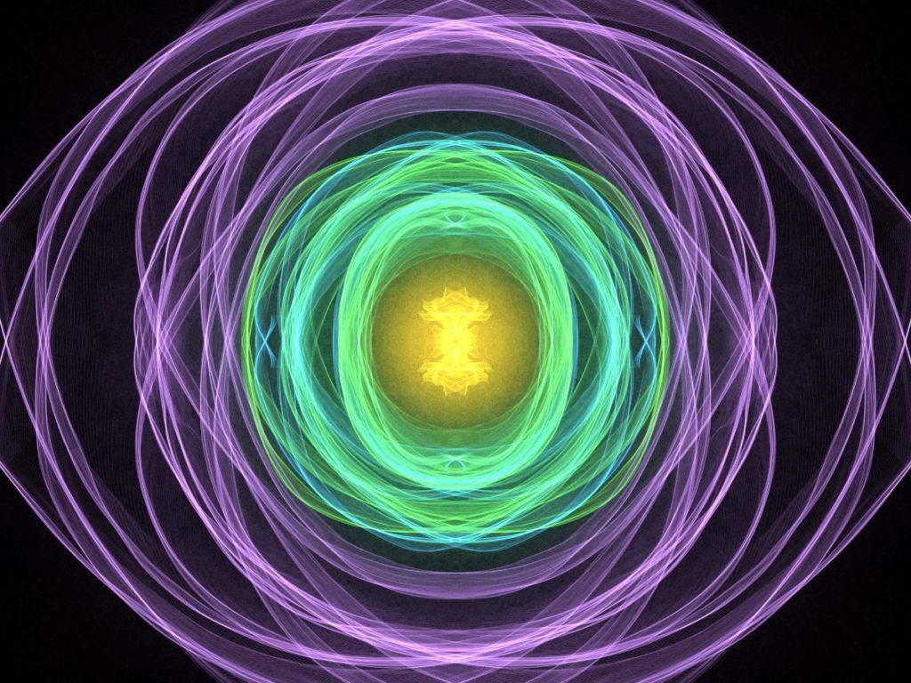 handpainted fractal 129