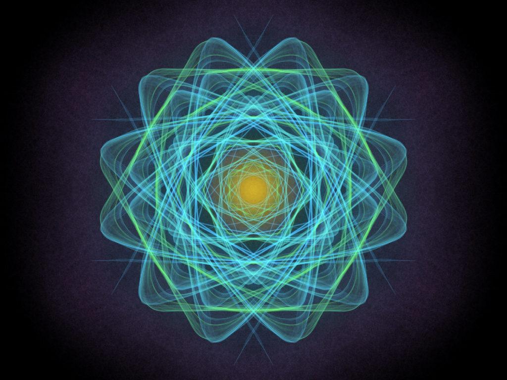 handpainted fractal 130
