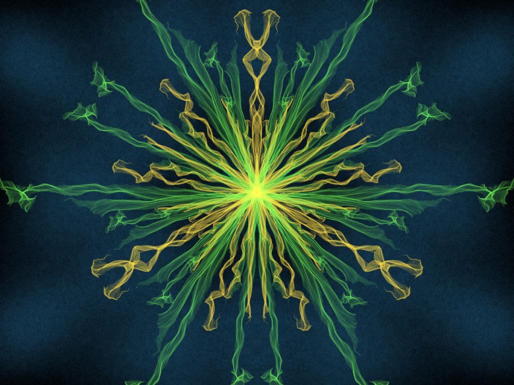 handpainted fractal 131