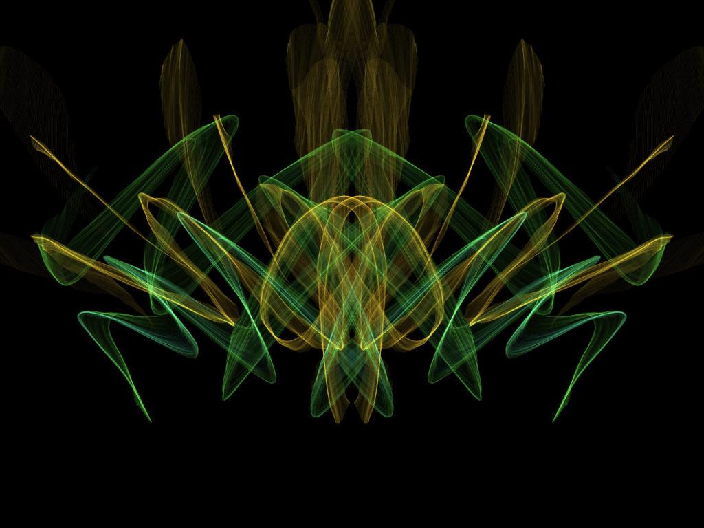 handpainted fractal 138