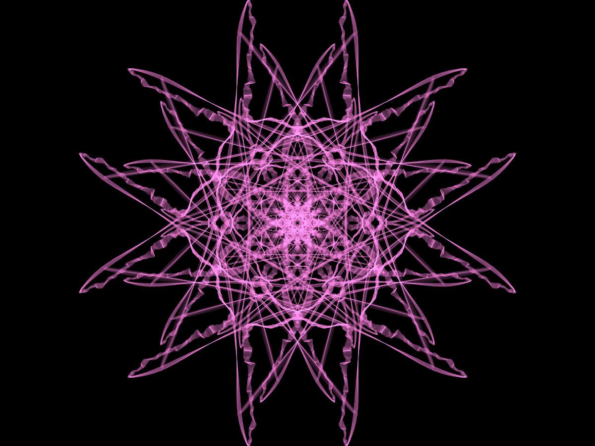 handpainted fractal 144