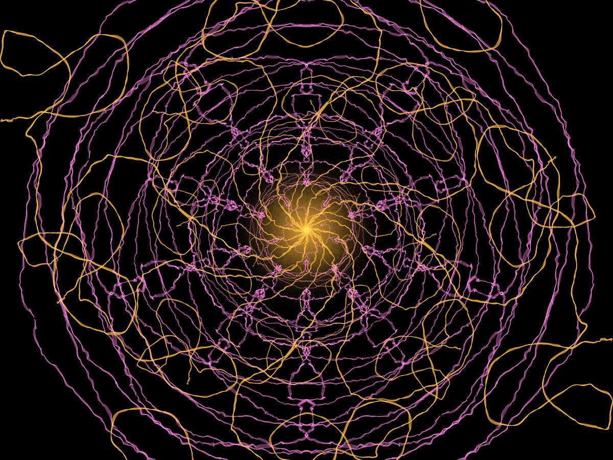 handpainted fractal 145