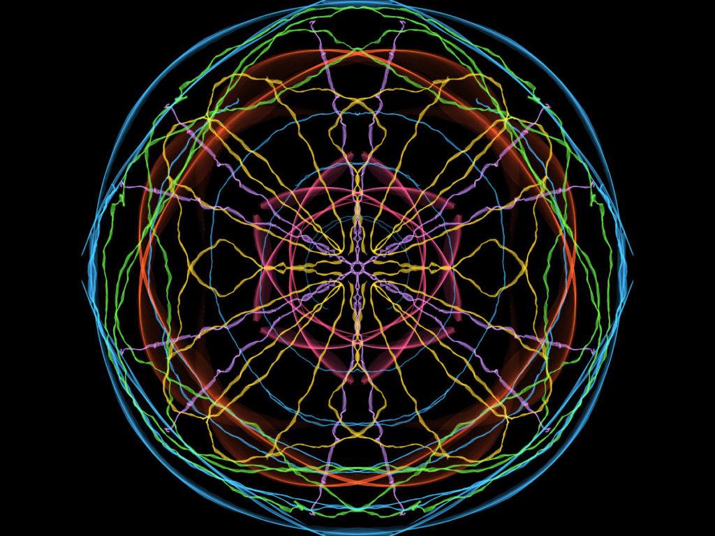 handpainted fractal 146