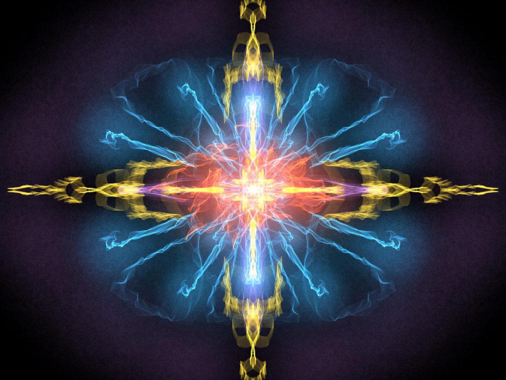 handpainted fractal 148