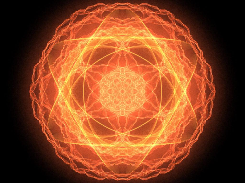 handpainted fractal 151