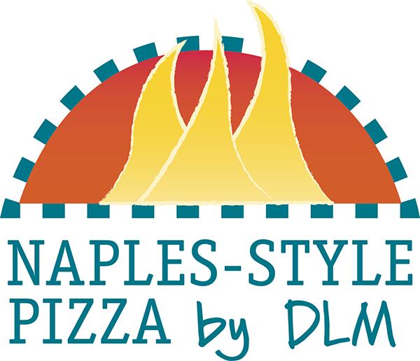 DLM Naples-Style Pizza Logo