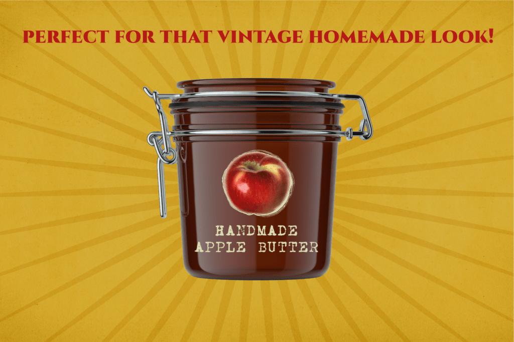 Authentic Vintage Watercolor Apples Vol. 1 Preview 8