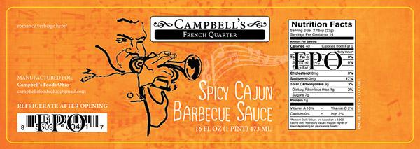 Campbells Fine Foods Label Concepts v1a
