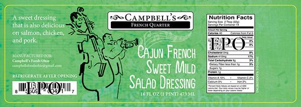 Campbells Fine Foods Label Concepts v1b
