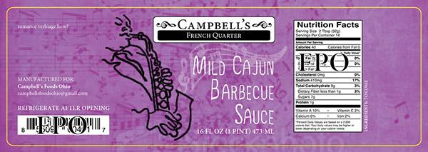 Campbells Fine Foods Label Concepts v1c