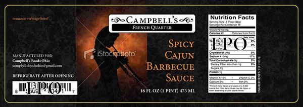 Campbells Fine Foods Label Concepts v2a