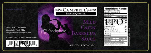 Campbells Fine Foods Label Concepts v2c