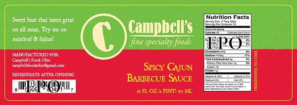 Campbells Fine Foods Label Concepts v3a