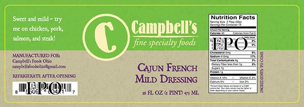 Campbells Fine Foods Label Concepts v3c