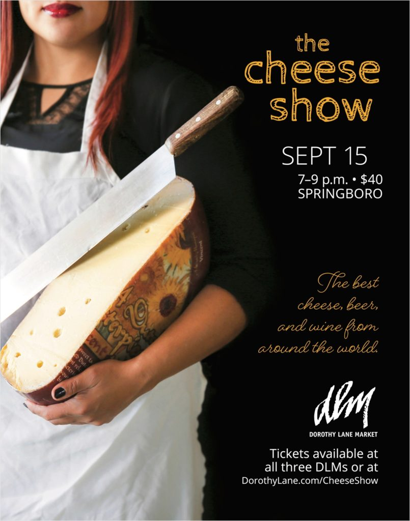 DLM Cheese Show Poster 2016