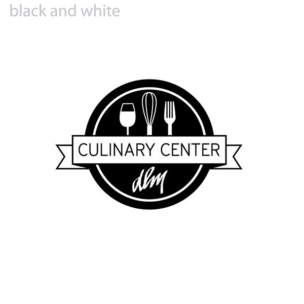 DLM Culinary Center Logo BW