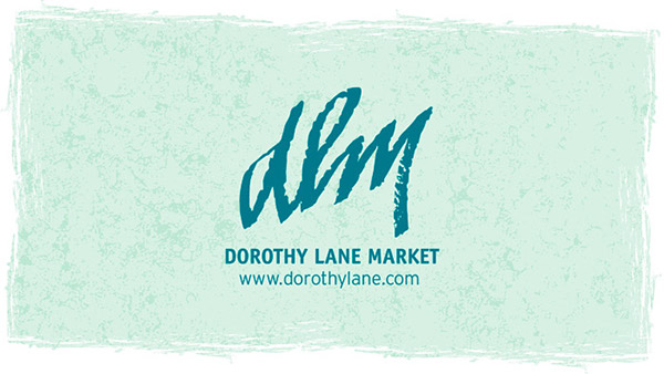 DLM Hearts Food Background with DLM Logo