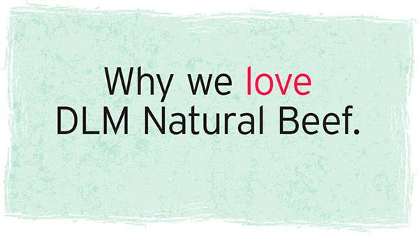DLM Hearts Food Logo Tagline Option