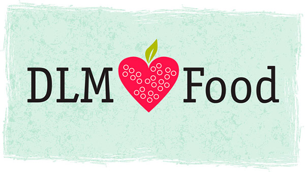 DLM Hearts Food Logo with Background