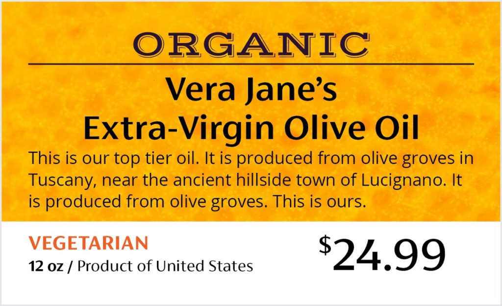 DLM In Store Signage Organic
