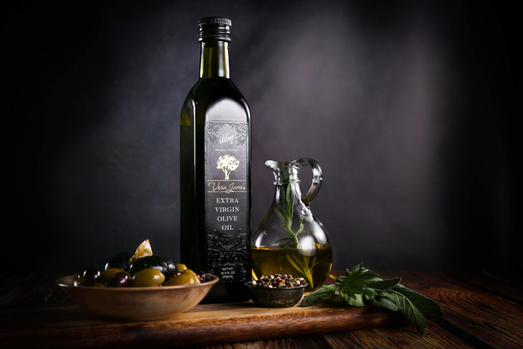 DLM Vera Janes Extra Virgin Olive Oil Label Redesign 2018