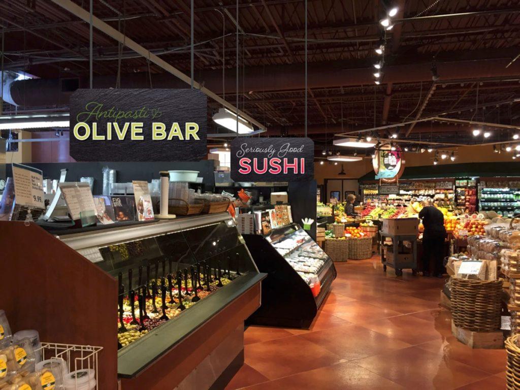 Deli Signage Olive Sushi