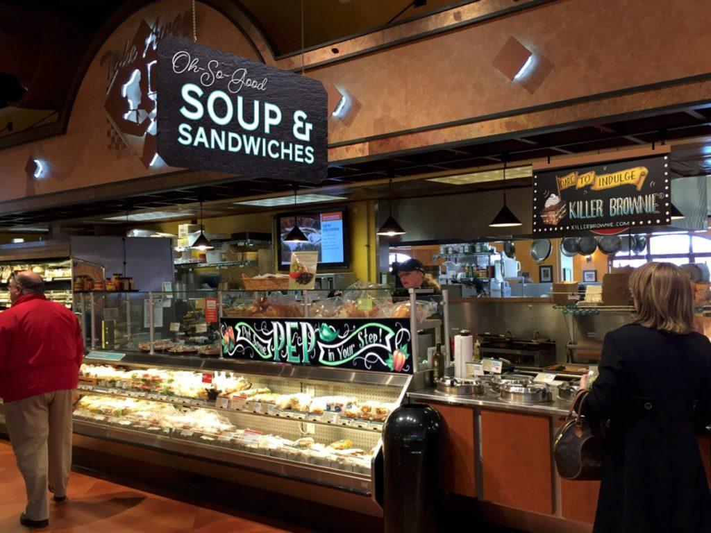 Deli Signage Soup Sandwiches