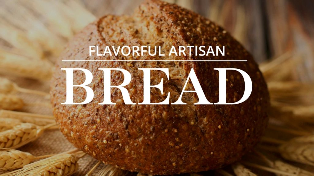 Department Title Cards for TV Artisan Bread
