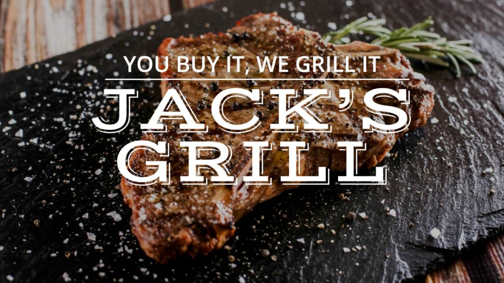 Department Title Cards for TV Jacks Grill