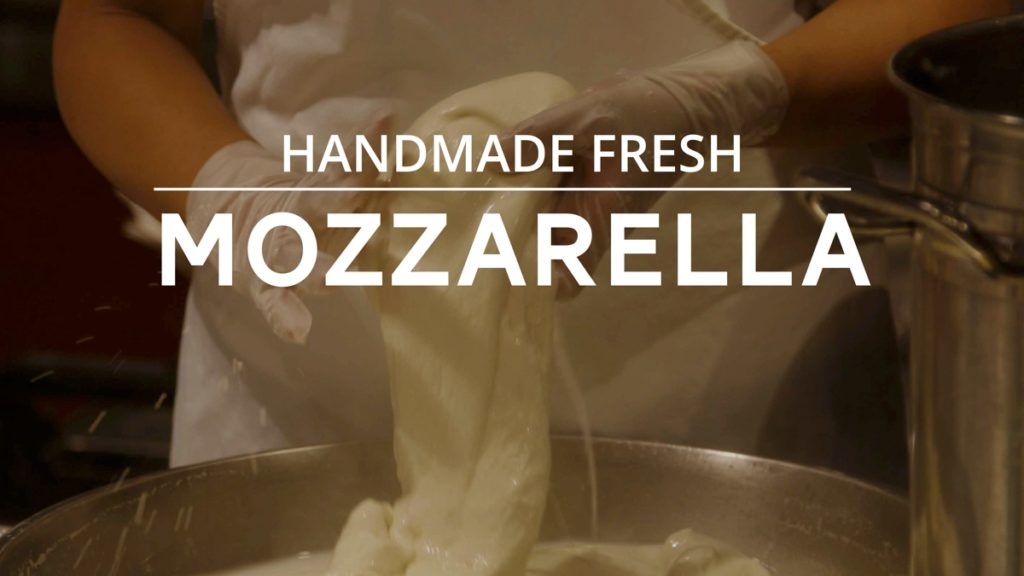 Department Title Cards for TV Mozzarella