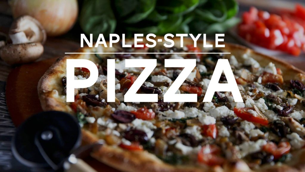Department Title Cards for TV Naples Style Pizza