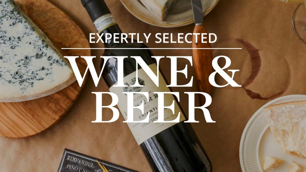 Department Title Cards for TV Wine Beer