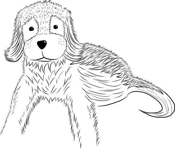 Doggie Digital Ink