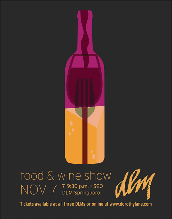Food Wine Show Poster 2013