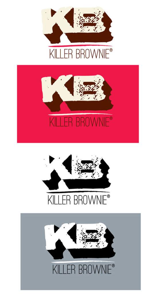 Killer Brownier Logo Redesign 2013 Final Logos