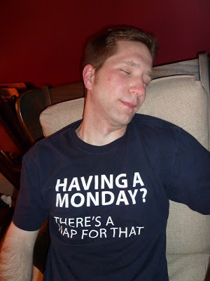 There's A Nap for That Monday Shirt 2011