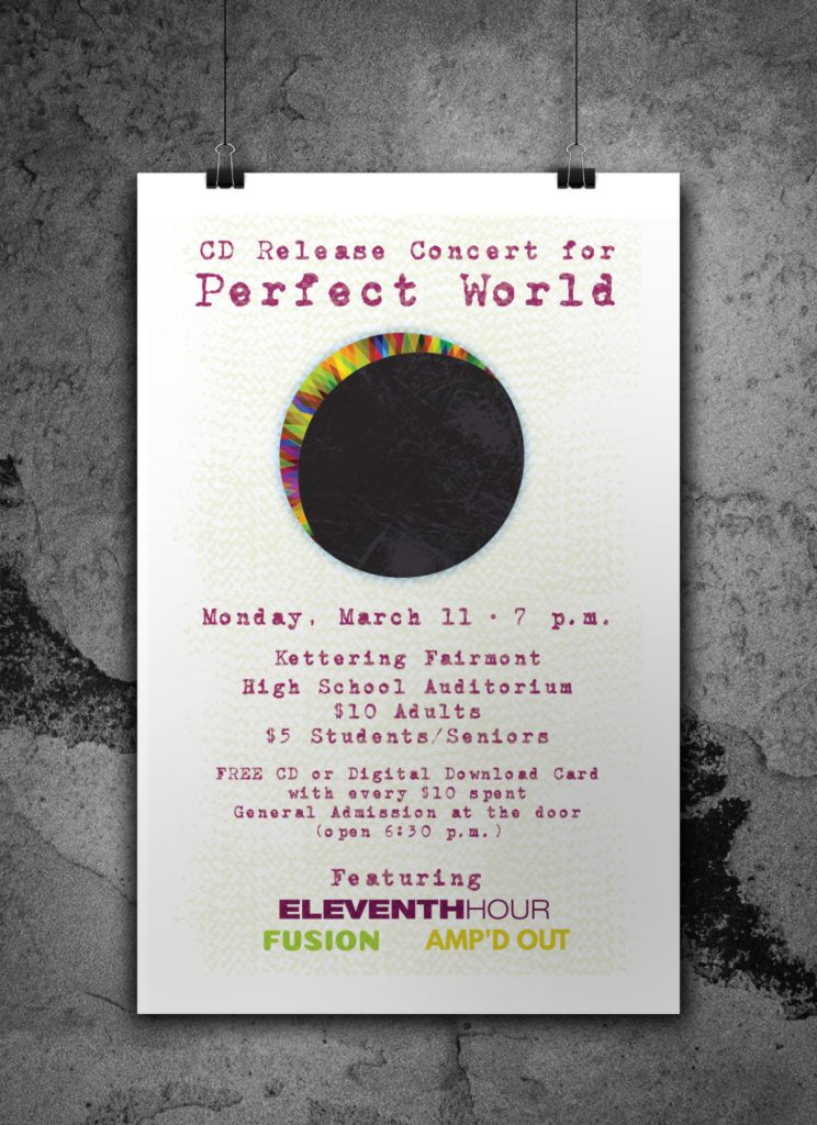 Perfect World CD Release Poster