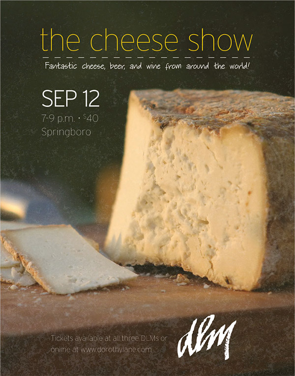 The Cheese Show Poster 2013