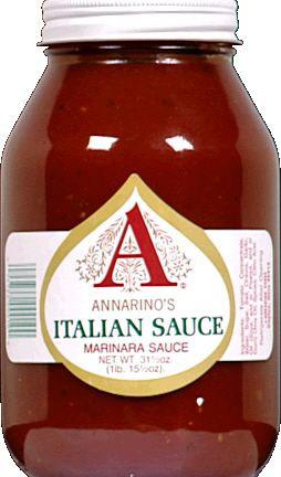 Annarino's Italian Sauce Label c1960s