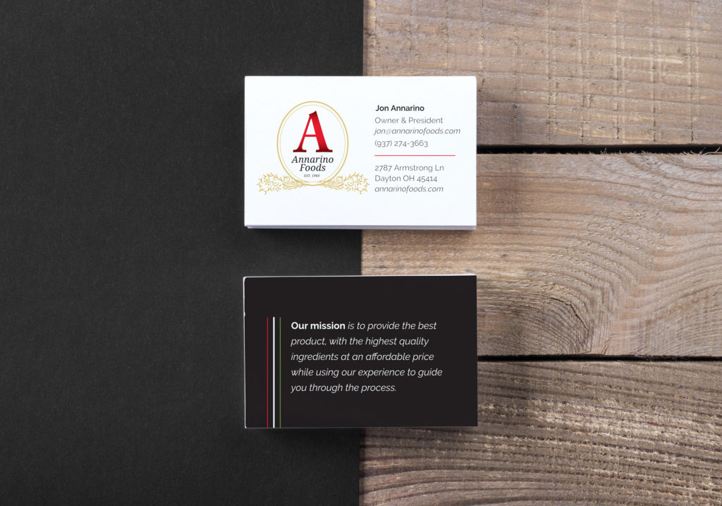 Annarino's Business Cards