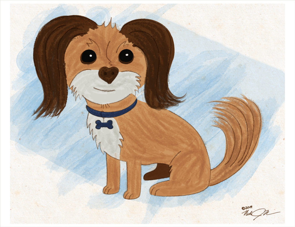 10x8 Dog Portrait Digital 01 Web