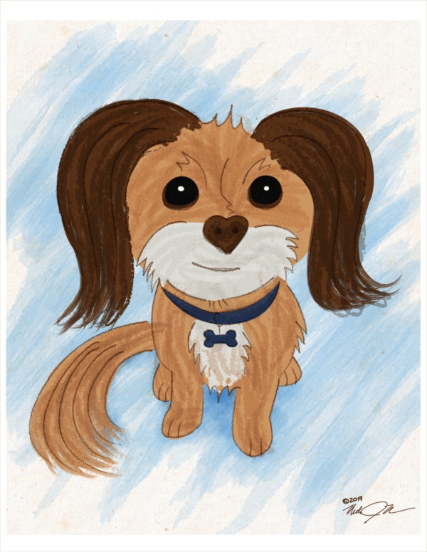 8x10 Dog Portrait Digital 01 Web