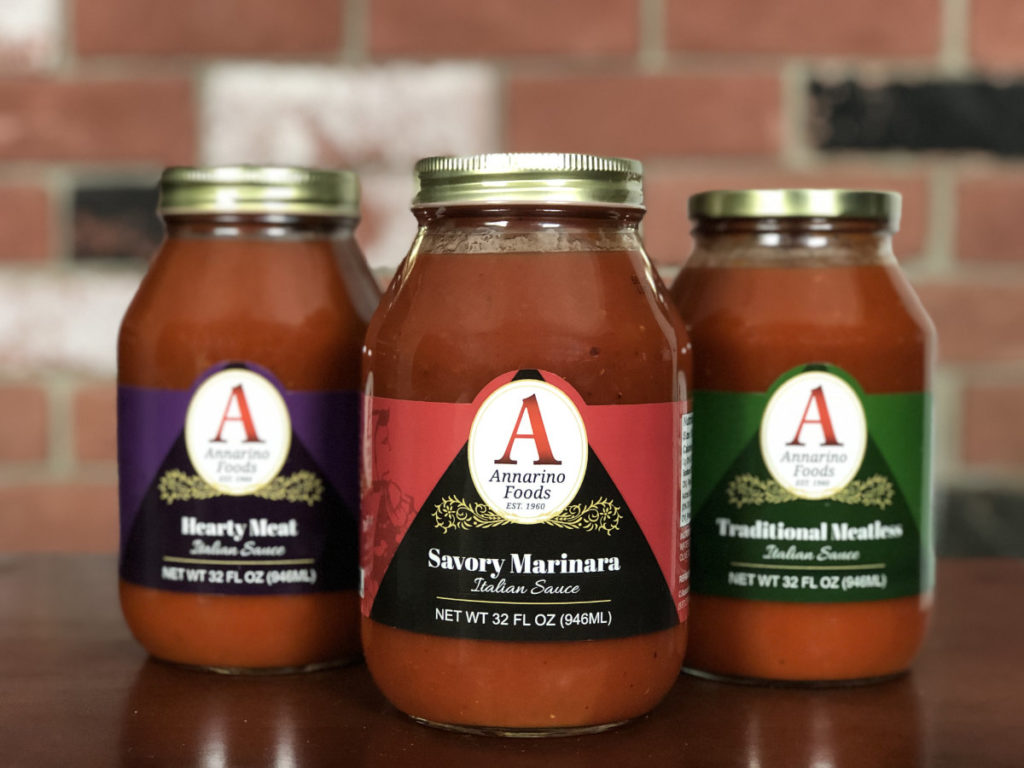 Annarino Foods Sauce Label Redesign 2019