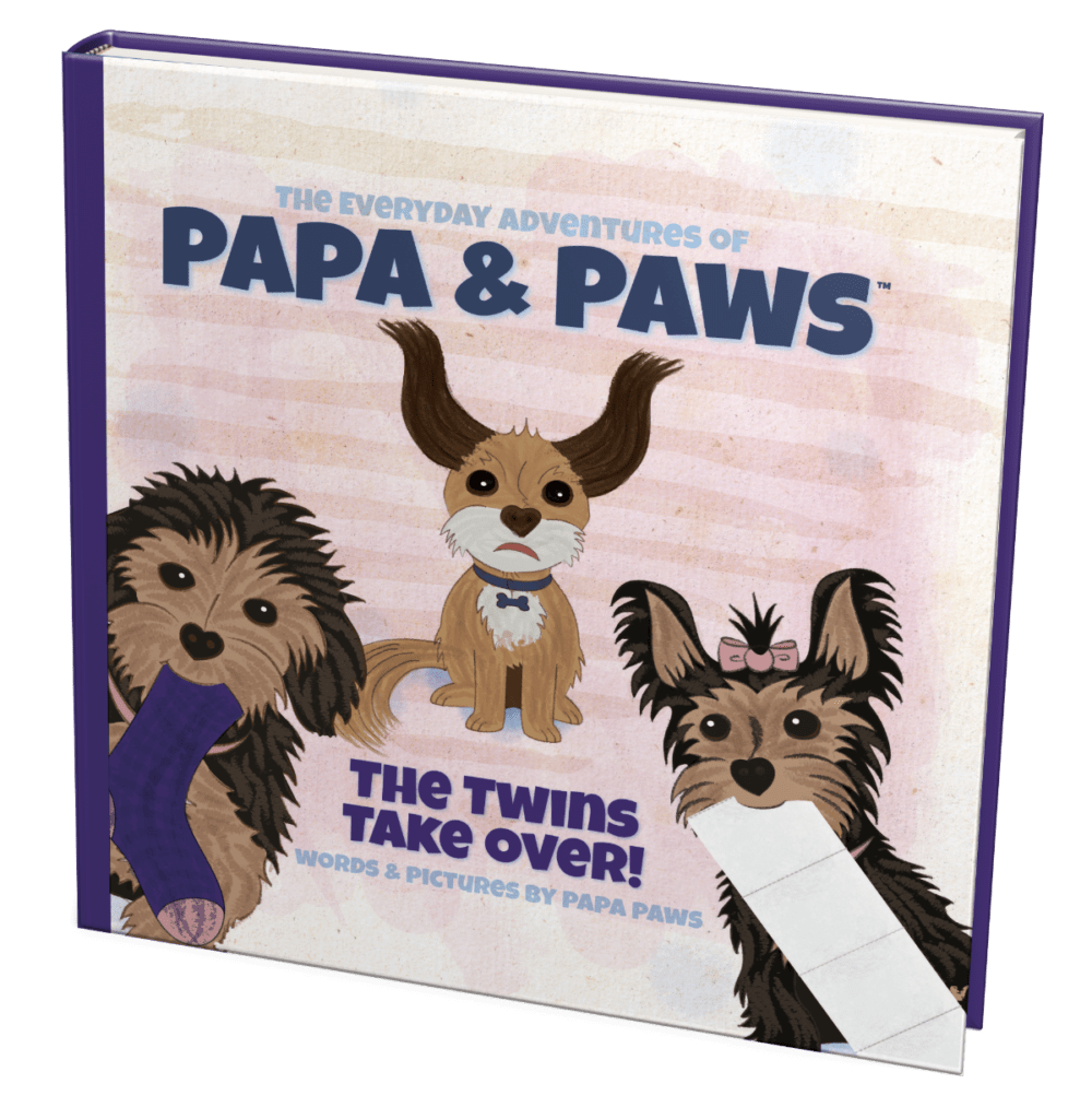 Papa Paws The Twins Take Over Square Front