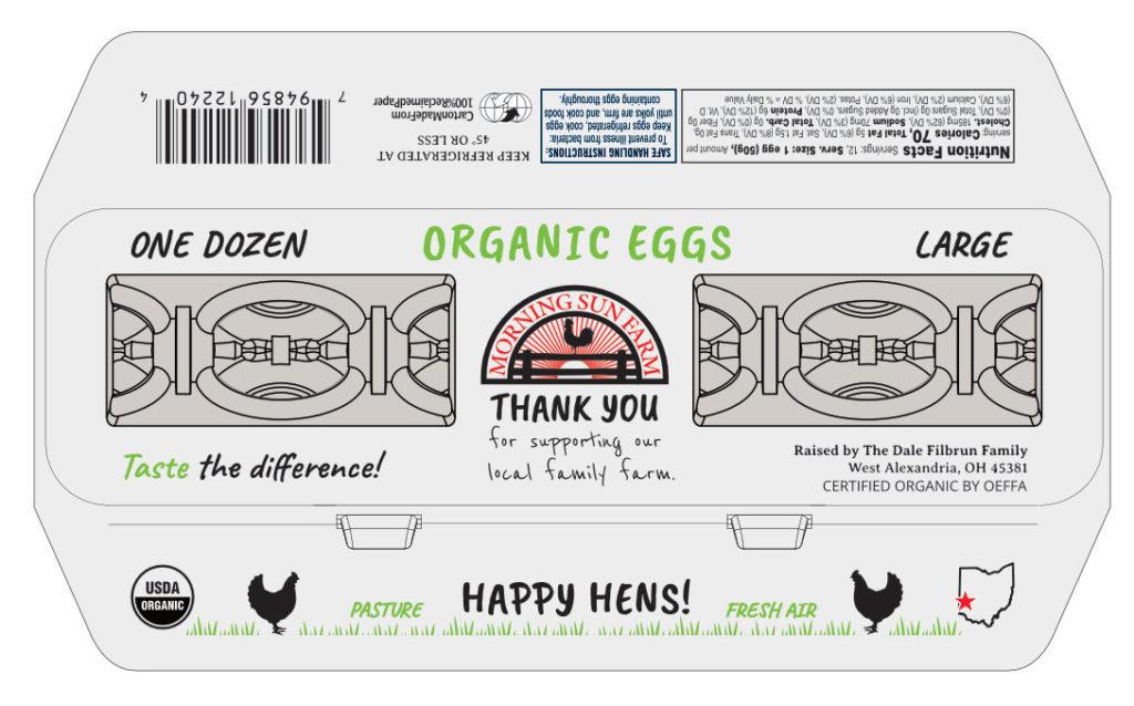 MSF egg carton LARGE